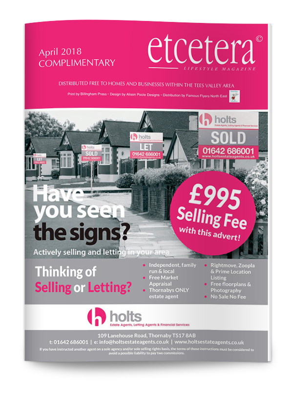 Etcetera Lifestyle Magazine - April 2018
