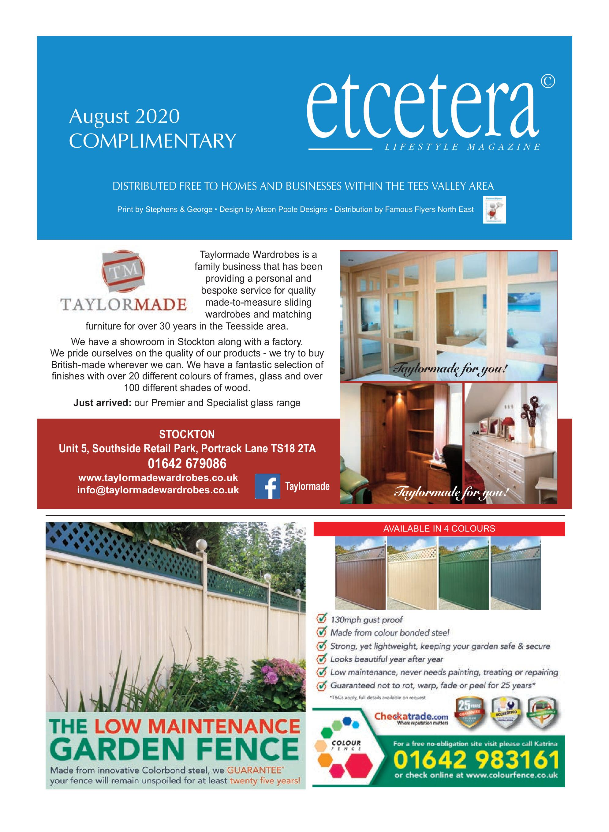 Etcetera Lifestyle Magazine - August 2020