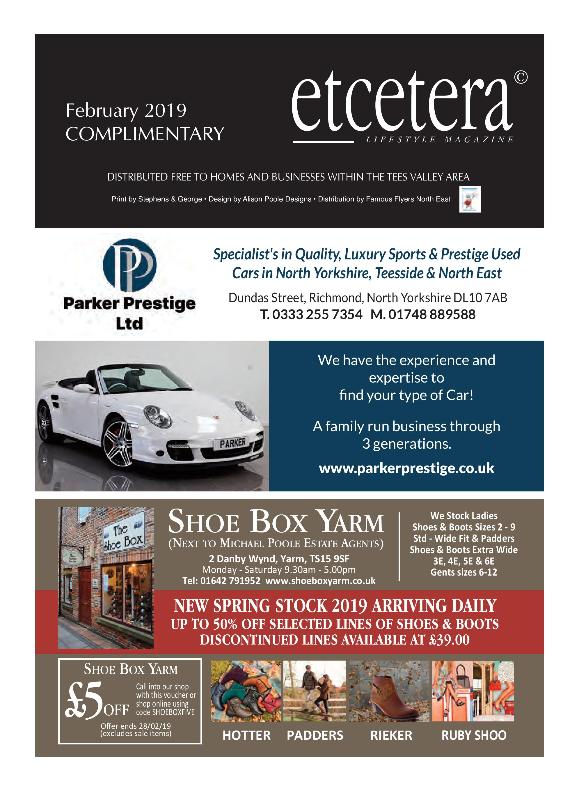 Etcetera Lifestyle Magazine - February 2019
