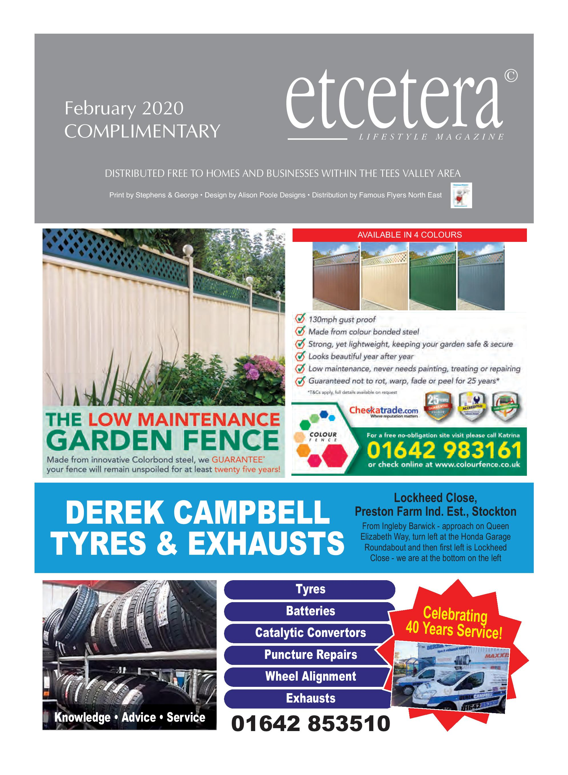 Etcetera Lifestyle Magazine - February 2020