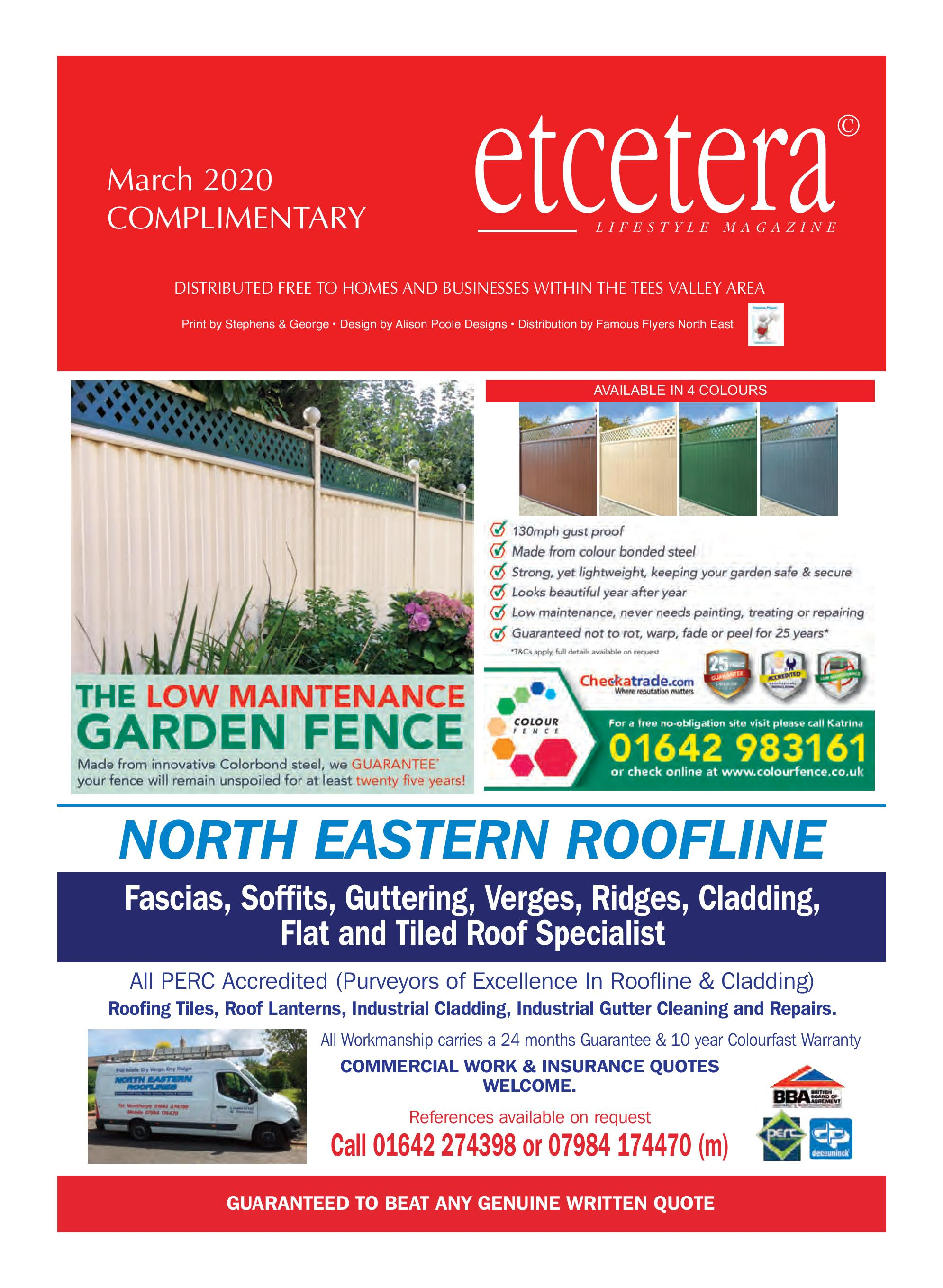 Etcetera Lifestyle Magazine - March 2020